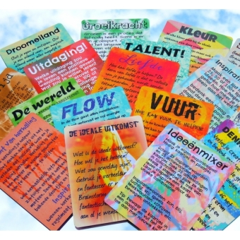 SpeelseKunst brainstormkaarten