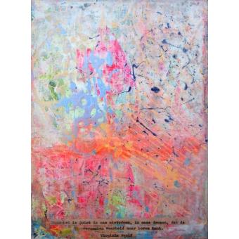 Abstract kunstwerk 'Dromen'