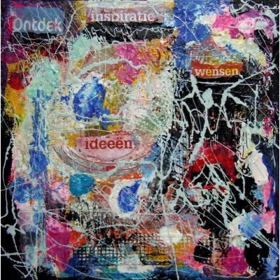Kunstwerk 'Creatieve Inspiratie'