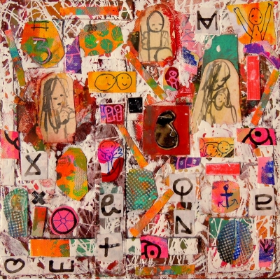 Collage 'Signs of life'