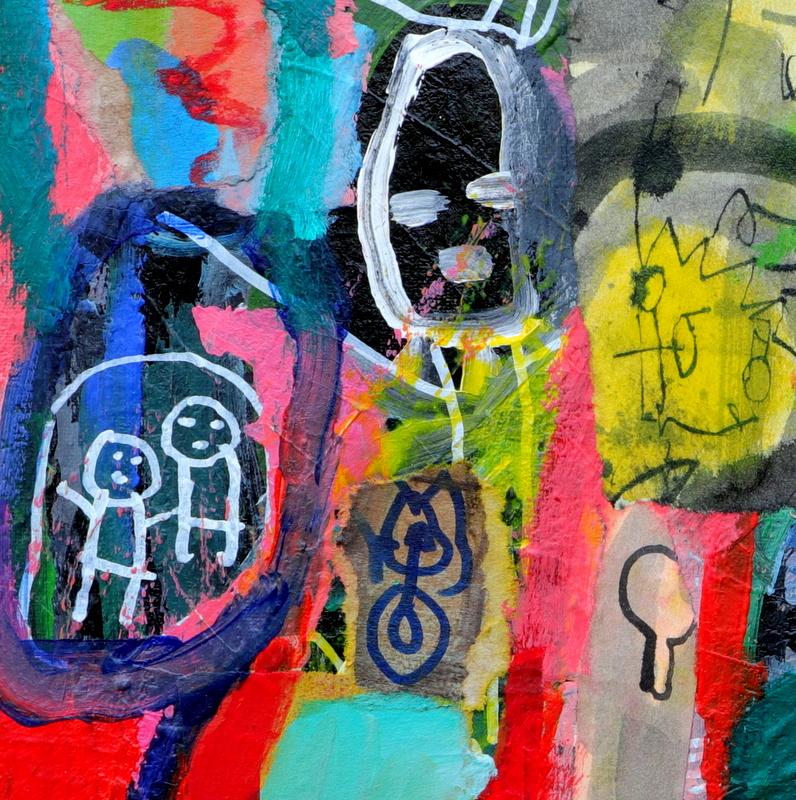 kunst a la Basquiat