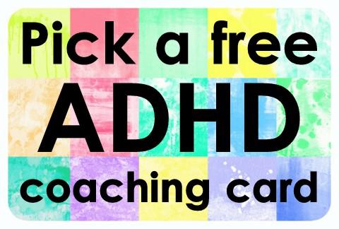 ADHD Coaching Cards