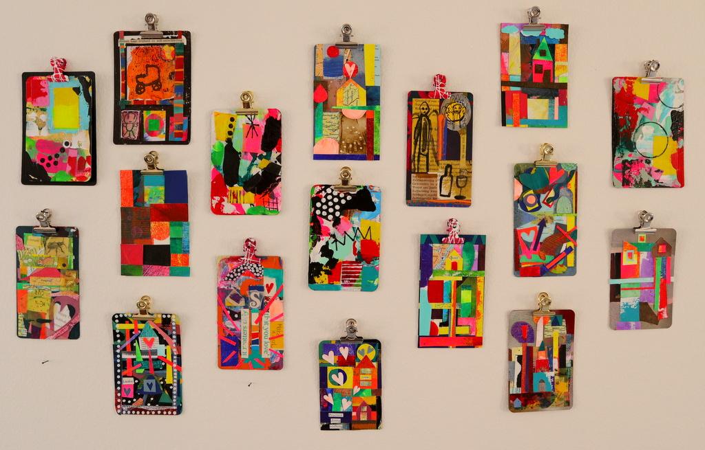 Kleine kunst collages